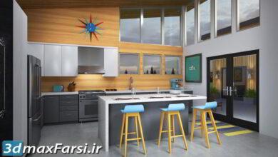 آموزش ساخت متریال در سابستنس معماری Lynda - 3ds Max and V-Ray: Residential Interior Materials آموزش ساخت تکسچر در نرم افزار سابستنس پینتر