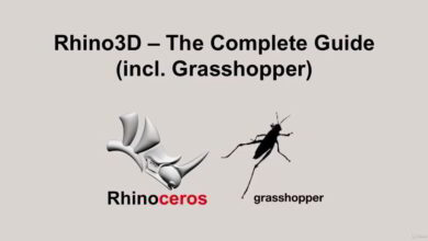 Udemy – Rhino3D – The Complete Guide (incl. Grasshopper)