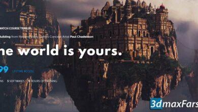 آموزش فتوشاپ Learn Squared – World Building with Paul Chadeisson
