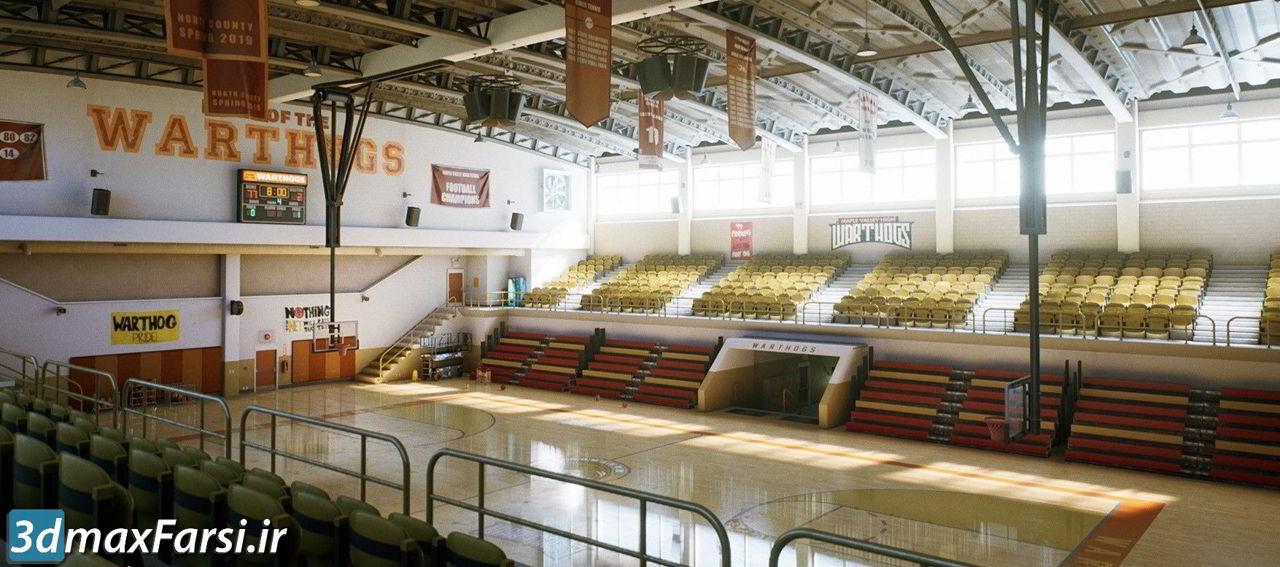 آموزش طراحی محیط مودولار آنریل انجین CGMaster Academy – UE4 Modular Environments with Clinton Crumpler
