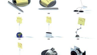 دانلود رایگان آرچ مدل Archmodels vol.20 : مدل سه بعدی لوازم تزئینی دفتر کار