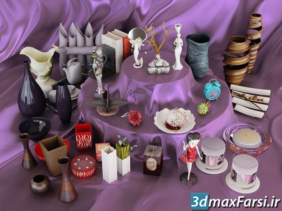 دانلود رایگان آرچ مدل Archmodels vol.111 : مدل سه بعدی مجسمه وسایل تزئینی