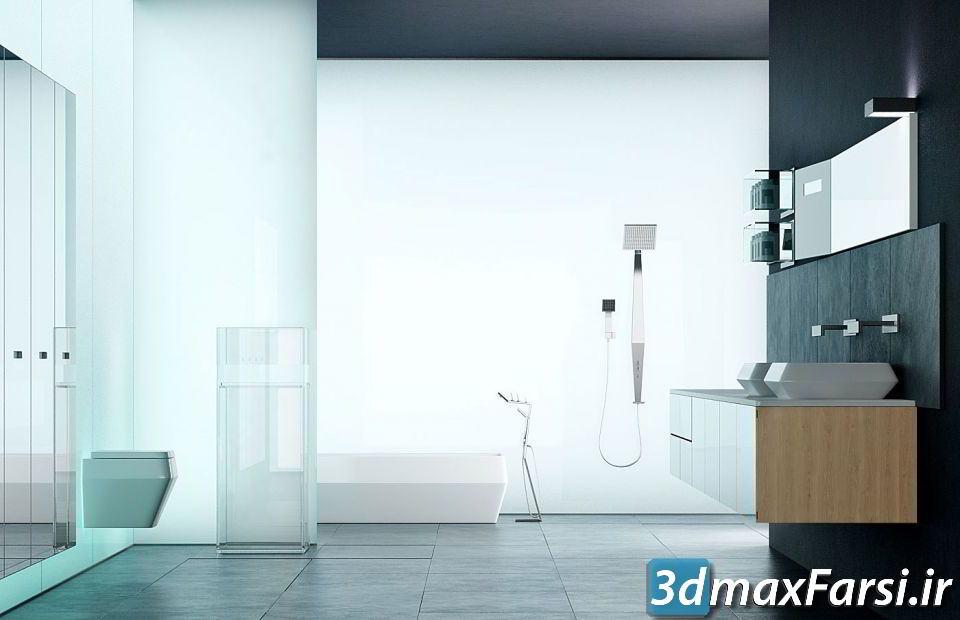 دانلود رایگان آرچ مدل Archmodels vol.127 : آبجکت وسایل حمام و سرویس بهداشتی