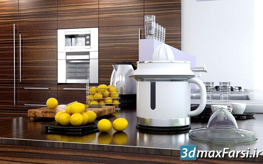 دانلود رایگان آرچ مدل Archmodels vol.51 : مدل سه بعدی لوازم آشپزخانه