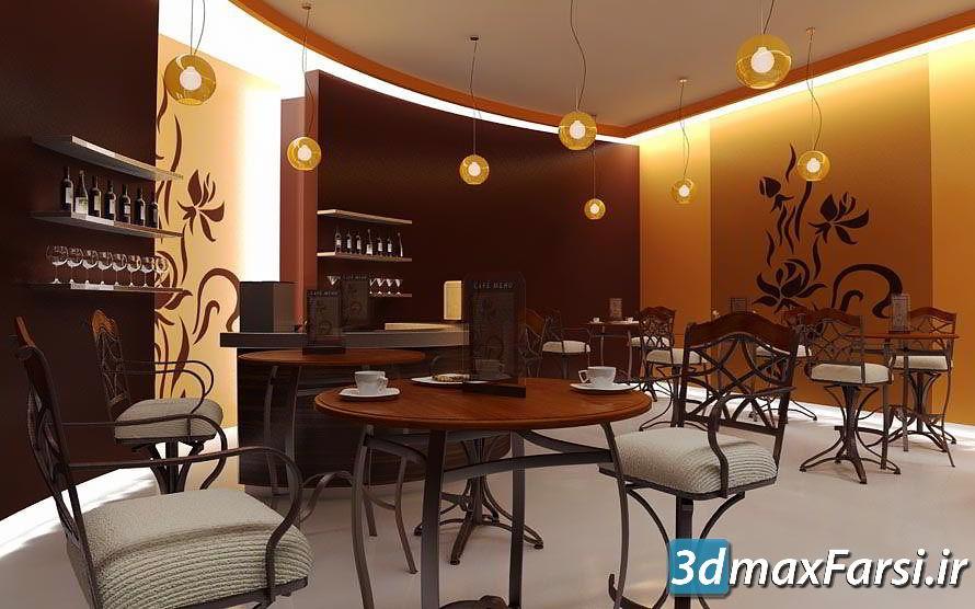 دانلود رایگان آرچ مدل Archmodels vol.54 : مدل سه بعدی رستوران غذا خوری