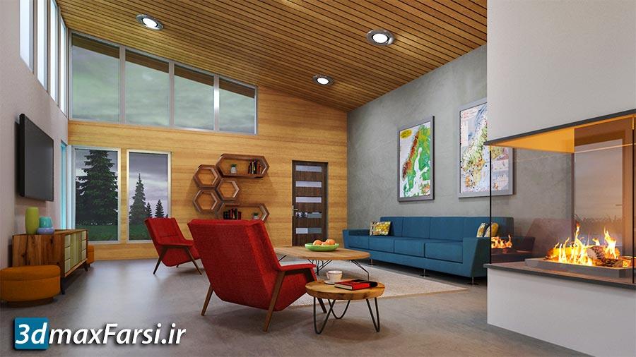 آموزش طراحی مجتمع مسکونی اسکچاپ: توسعه کانسپت معماری