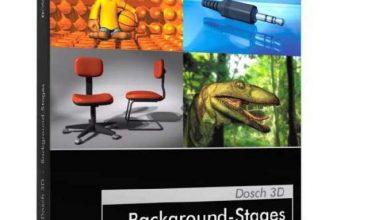 دانلود رایگان DOSCH 3D: Background-Stages