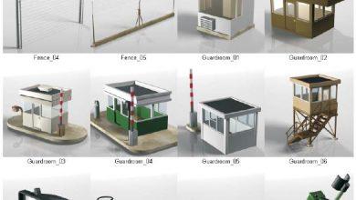 دانلود مدل سه بعدی امنیتی DOSCH 3D: Security