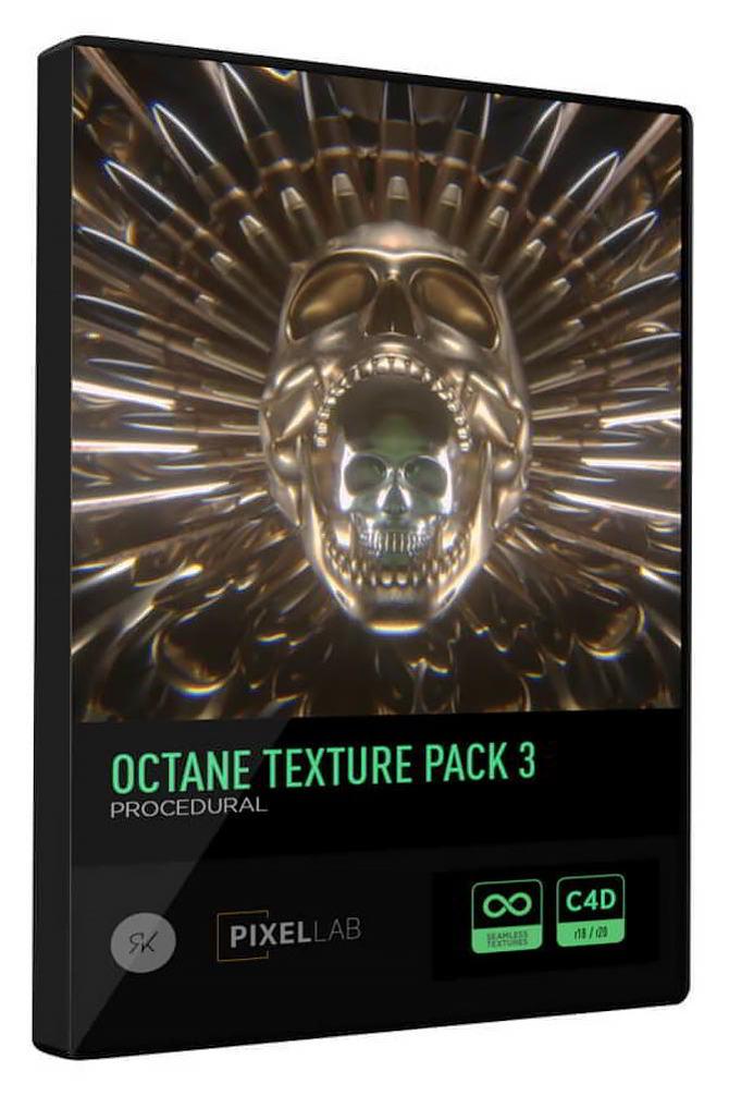 دانلود The Pixel Lab – Octane Texture Pack 3: Procedural Edition