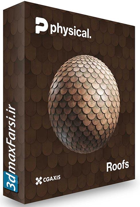 دانلود رایگان CGAxis – 8K PBR Textures Collection Volume 22 – Roofs