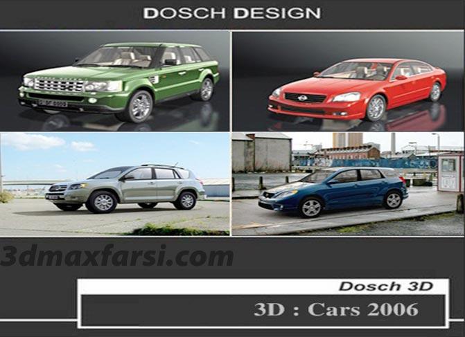 مدل سه بعدی ماشین Dosch 3D: Cars 2006