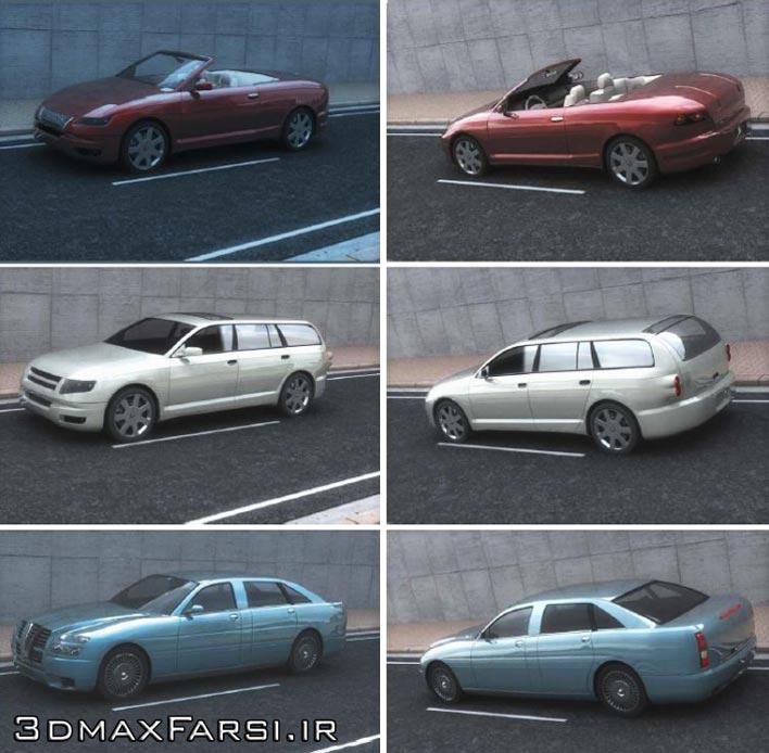 دانلود رایگان مدل سه بعدی ماشین Dosch 3D: Concept Cars
