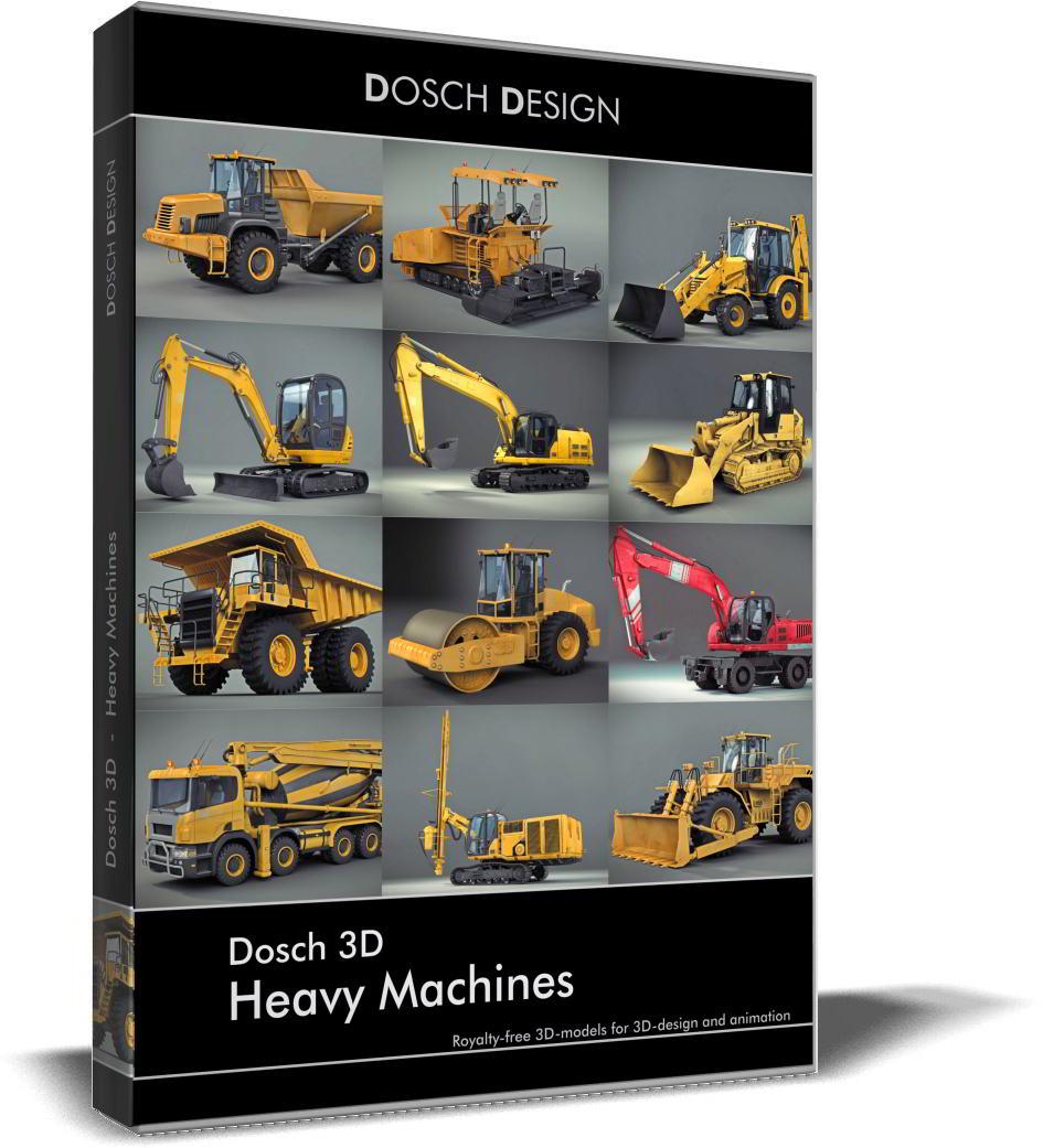 دانلود Dosch 3D: Heavy Machines