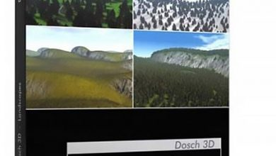 دانلود رایگان تصاویر لنداسکیپ Dosch 3D: Landscapes CD1