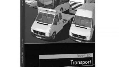 دانلود رایگان مدل سه بعدی وسایل نقلیه حمل و نقل Dosch 3D: Transport