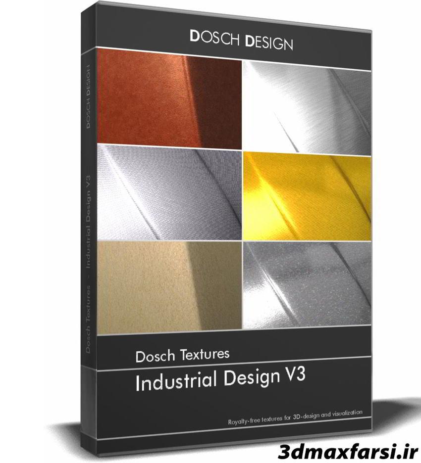 تکسچر متریال صنعتی Dosch Textures: Industrial-Design V3