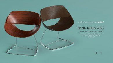 متریال سینمافوردی معماری Octane Texture Pack 2 for C4D – Architecture Edition