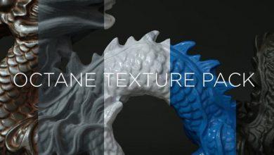 متریال سینمافوردی The Pixel Lab – Octane Texture Pack Pro