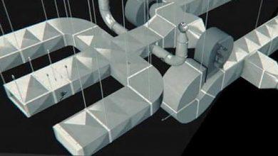 مدل سه بعدی Air Duct Generator for Cinema 4D – 85+ Components
