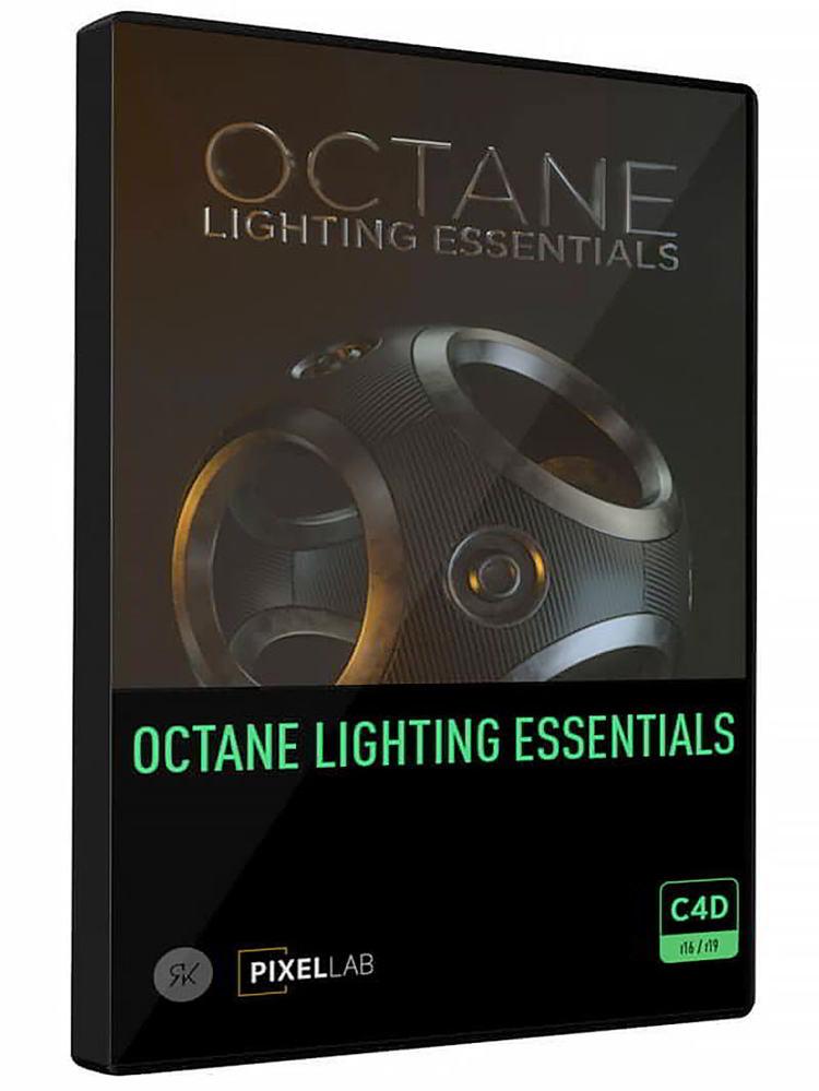 دانلود رایگان متریال سینمافوردی The Pixel Lab – Octane Lighting Essentials for Cinema 4D