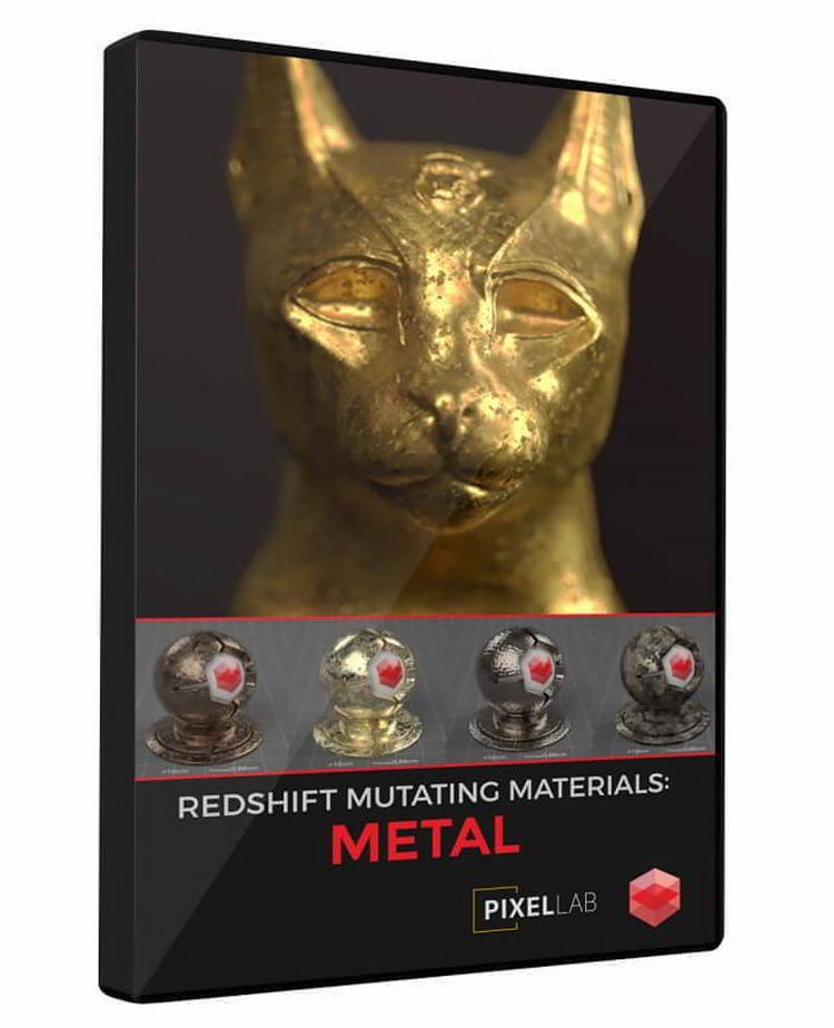 دانلود The Pixel Lab – Redshift Mutating Materials: Metal