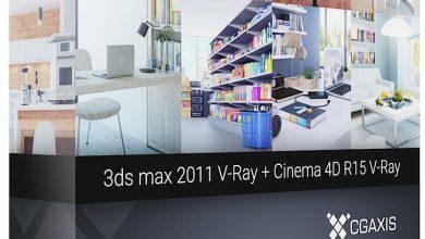 دانلود صحنه سه بعدی 3D Interiors – CGAxis Collection Volume 2