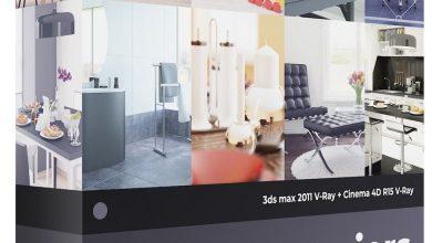 صحنه سه بعدی 3D Interiors – CGAxis Collection Volume 4