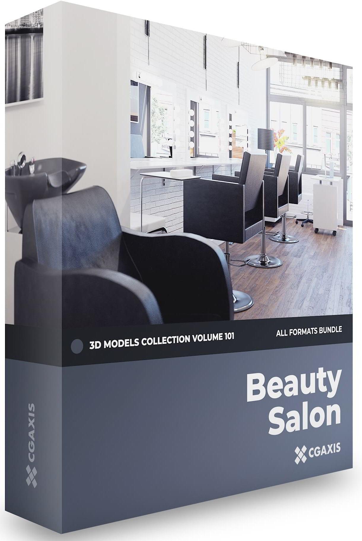 مدل سه بعدی سالن Beauty Salon 3D Models Collection Volume 101