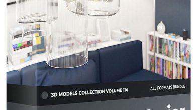 مدل سه بعدی روشنایی داخلی CGAxis – Interior Lights 3D Models Collection – Volume 114