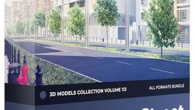دانلود رایگان مدل سه بعدی خیابان CGAxis – Street Equipment III 3D Models Collection – Volume 113