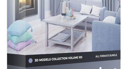 دانلود رایگان مدل سه بعدی CGAxis – Decorations 3D Models Collection Volume 103