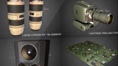دانلود The Pixel Lab – Tech Pack for Cinema 4D