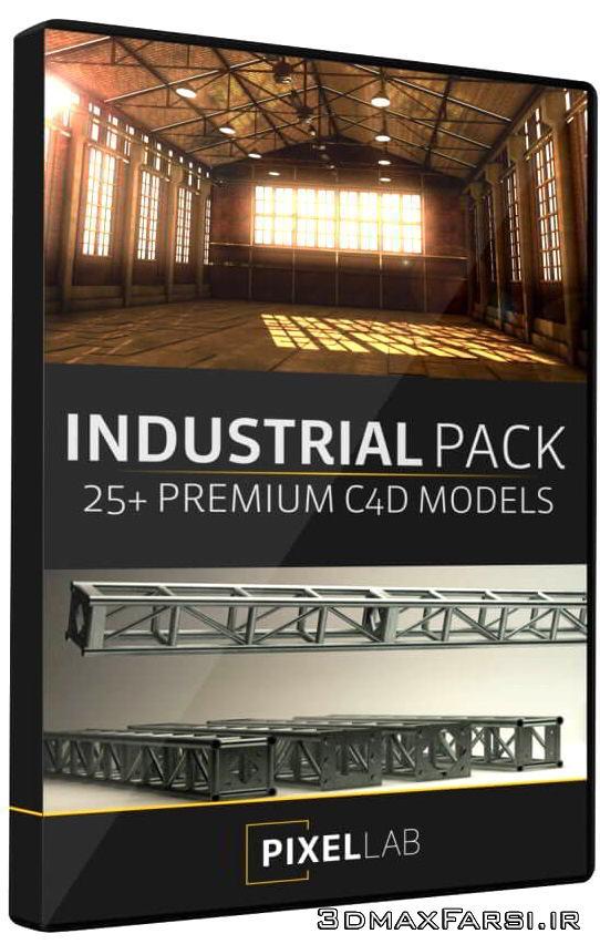 مدل سه بعدی صنعتی The Pixel Lab – Industrial Pack for Cinema 4D