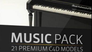 دانلود The Pixel Lab – Music Pack for Cinema 4D