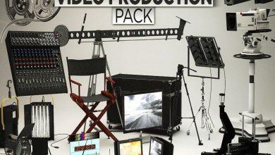 مدل سه بعدی ویدئو پروداکشن The Pixel Lab – Video Production Pack for Cinema 4D