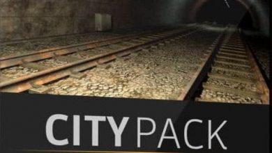 دانلود مدل سه بعدی فضای شهر The Pixel Lab – City Pack for Cinema 4D