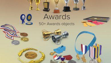 دانلود PixelSquid – Awards Collection