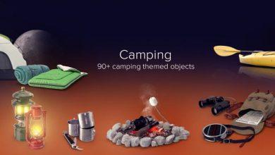 دانلود PixelSquid – Camping Collection
