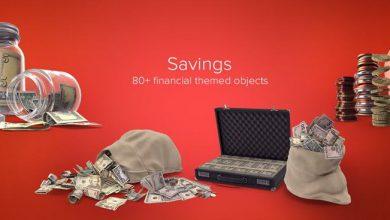 دانلود PixelSquid – Savings Collection