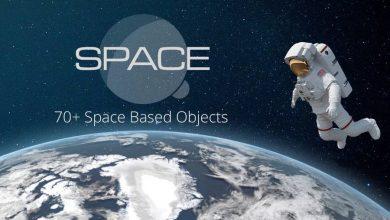 دانلود PixelSquid – Space Collection