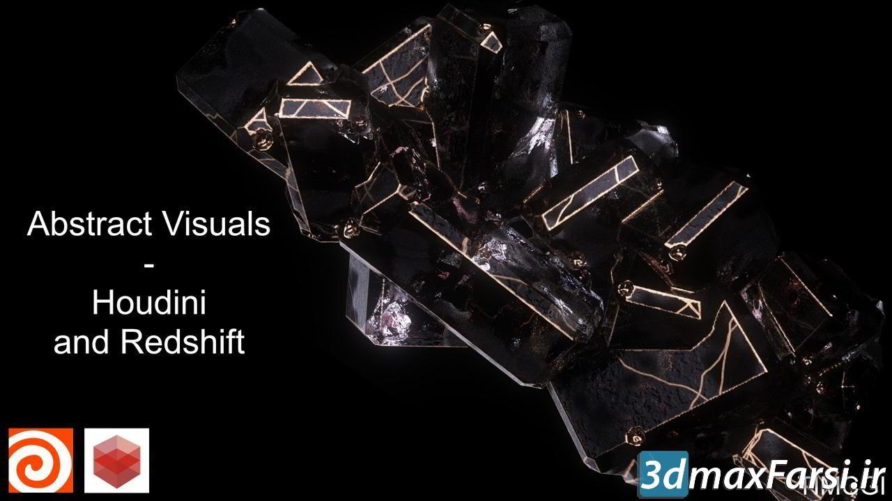 ایجاد جلوه های بصری در هودینی CGCircuit – Abstract Visuals – Houdini and Redshift