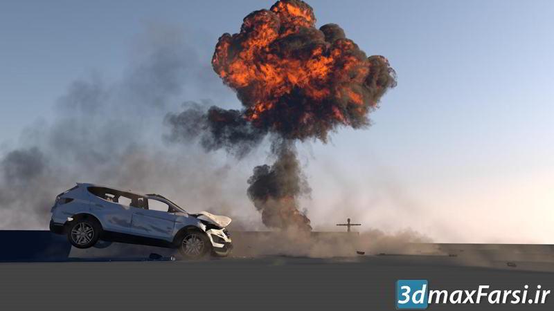 CGCircuit – Cinema 4D Car Destruction Part 1