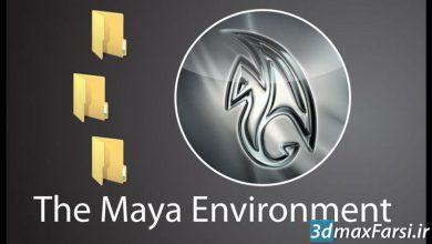 دانلود رایگان آموزش شبیه سازی محیط مایا CGCircuit – Maya Environment