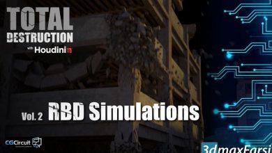 دانلود آموزش CGCircuit – Total Destruction: Vol.2 RBD Simulations