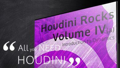 دانلود آموزش CGCircuit – VFX'n'GO – Houdini Rocks – Volume 4a – Introduction to Dynamics
