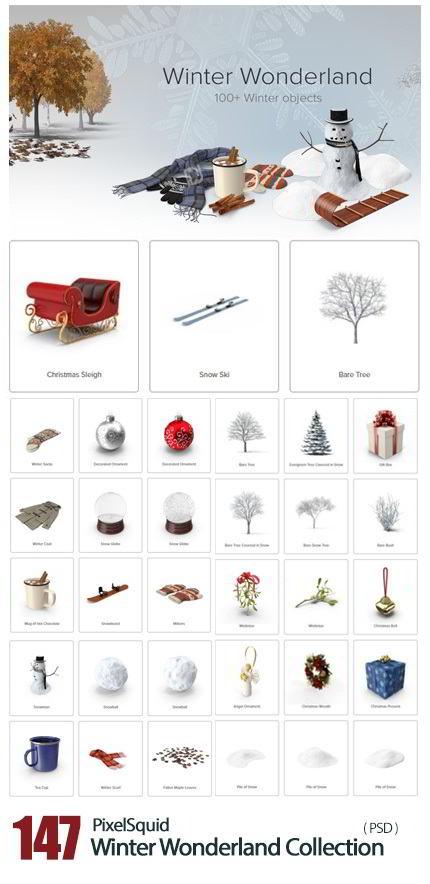 دانلود PixelSquid – Winter Wonderland Collection