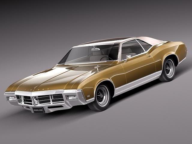 ماشین بيوك ريويرا کلاسیک TurboSquid – Buick Riviera 1969