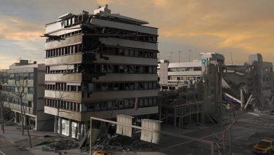 عناصر معماری و جاده و بلوک های ساختمانی TurboSquid – Destroyed City Blocks