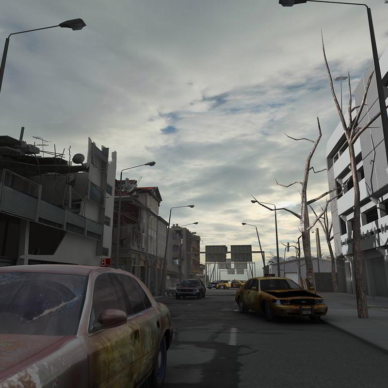 دانلود رایگان TurboSquid – Destroyed City Blocks