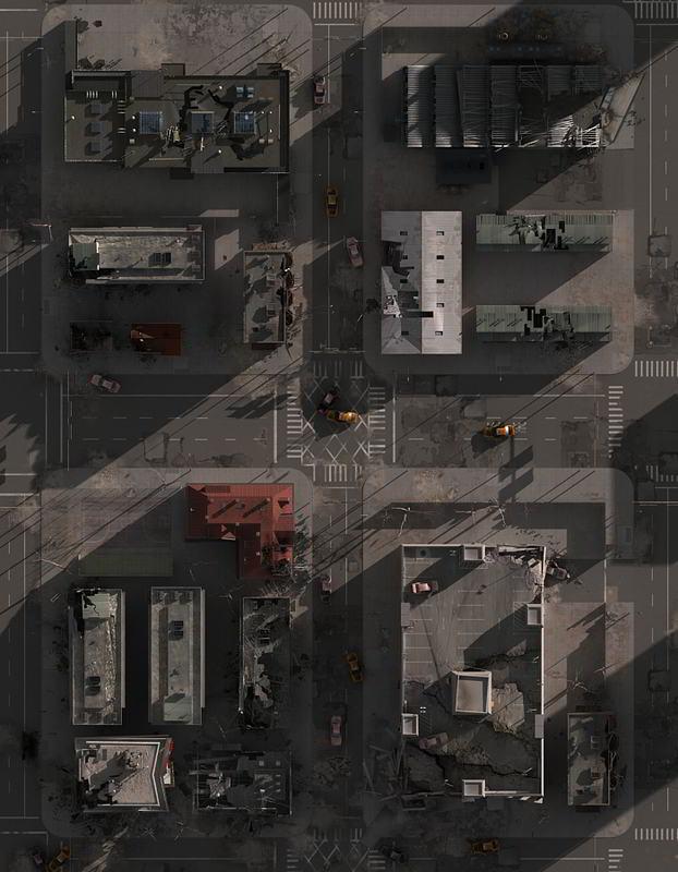 دانلود رایگان TurboSquid – Destroyed City Blocks تری دی مکس